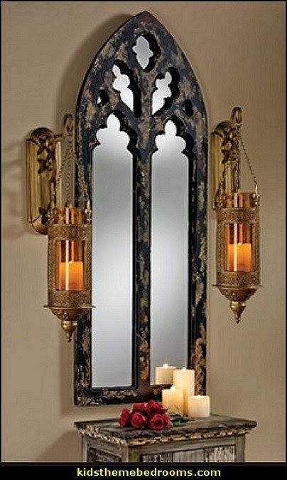 Gothic Style Decor gothic cathedral arch mirror | lsd | pinterest | arch mirror