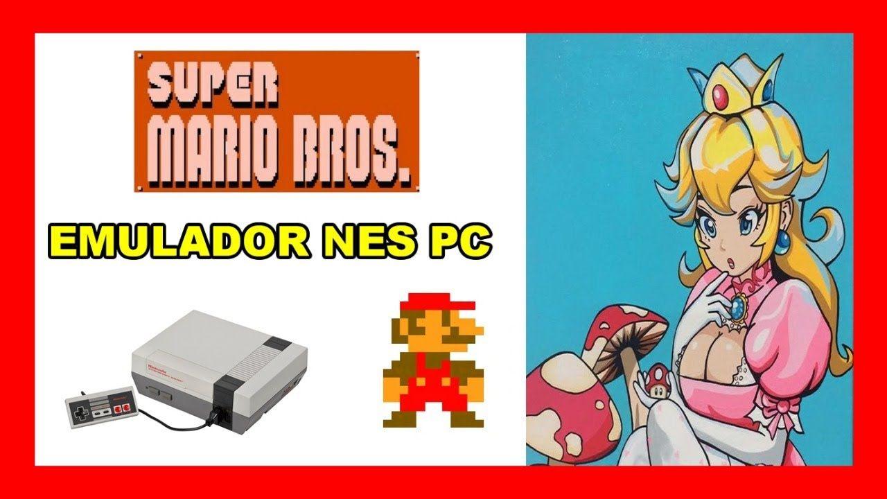 Jugamos Super Mario Bros con el emulador nintendo para pc