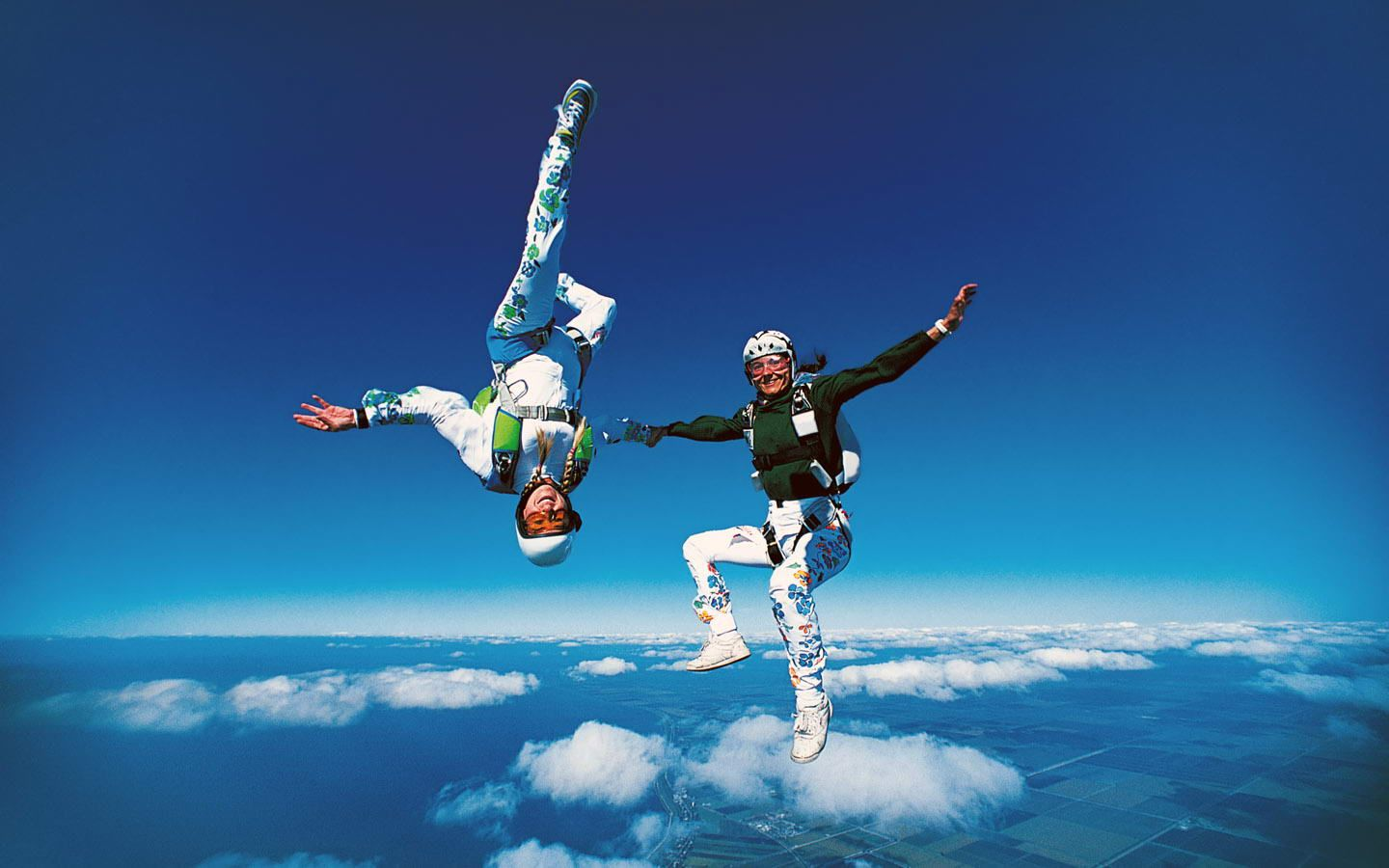 Facebook Skydiving Extreme Sports Outdoors Adventure