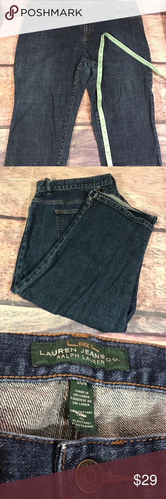 5133b3a810182 Lauren Ralph Lauren jeans size 20 Lauren Ralph Lauren woman s size 20w  Lauren Ralph Lauren Jeans Flare   Wide Leg