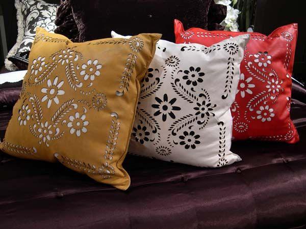Delightful Mercado Picado Double D Ranch Pillows