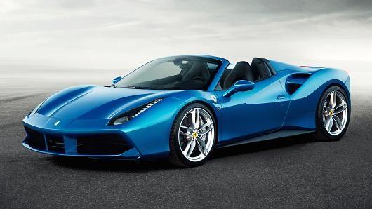 Ferrari Teases New 488 Spider Supercar Ferrari Car Ferrari 488 Futuristic Cars