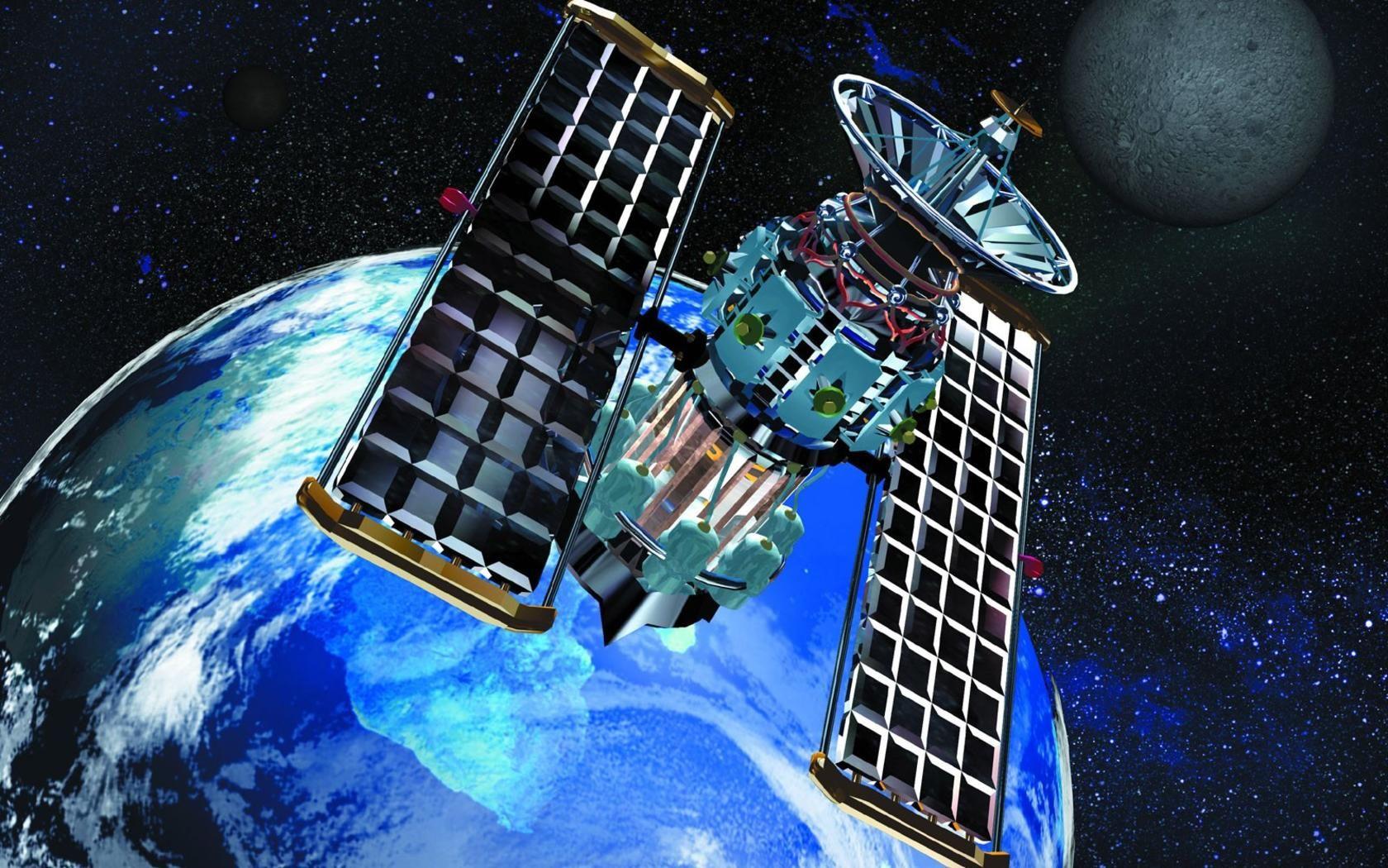 Satellite Widescreen Wide Jpg 1 680 1 050 Pixels Satellites Flat Earth Movement Satellite Image