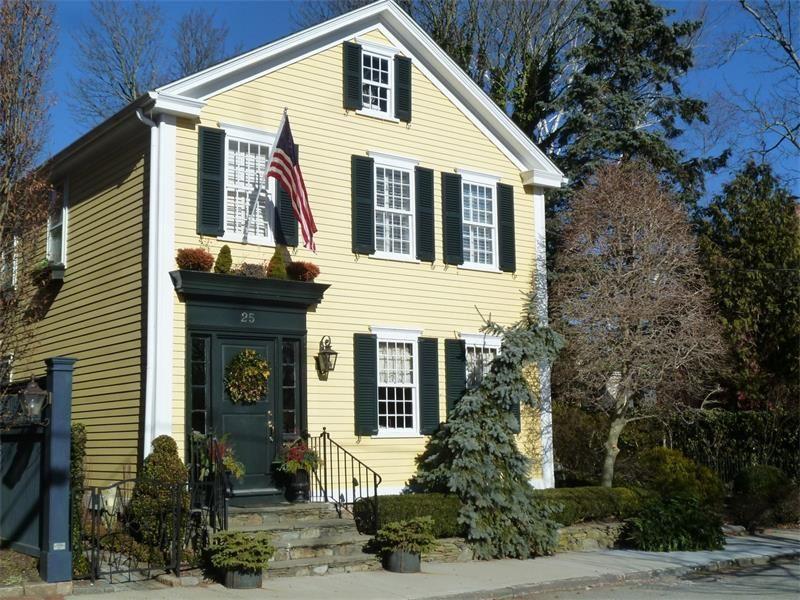 """The Margaret Burdick House"" 25 Willow Street, Newport"