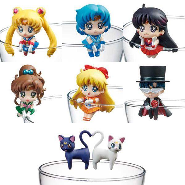 Megahouse Ochatomo Tea Series Sailor Moon Cosmic Heart Cafe Coaster Figure