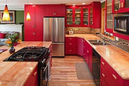 Cucina Rossa, ad ognuno il suo stile! Per sapere quanto ti costa ...