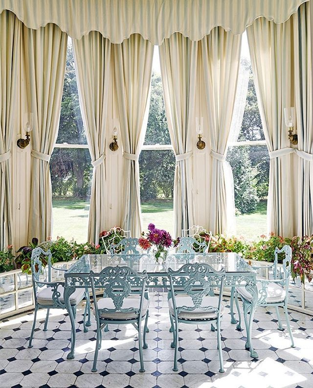 This Newport Cottage Curtains #windowtreatments
