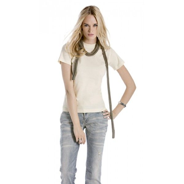 T-Shirt donna in cotone organico naturale Biosfair