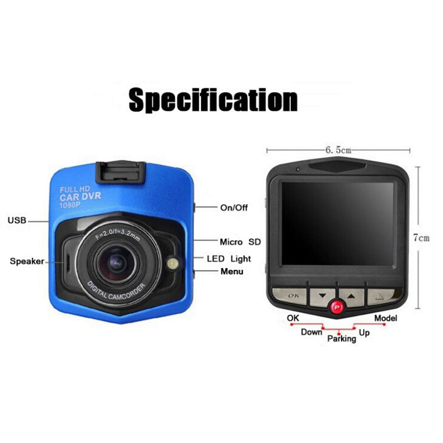 c4588e9915a13c8ed338be98be0878b2 mini car dvr camera gt300 full hd 1080p video recorder g sensor  at readyjetset.co