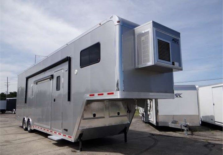 40 custom stacker and movie theater this trailer was