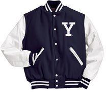 yale jacket | Collegejacke, Jacken flicken und Lederjacke