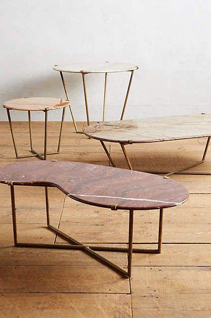 Slivered Boulder Table Furniture Tree Stump Table