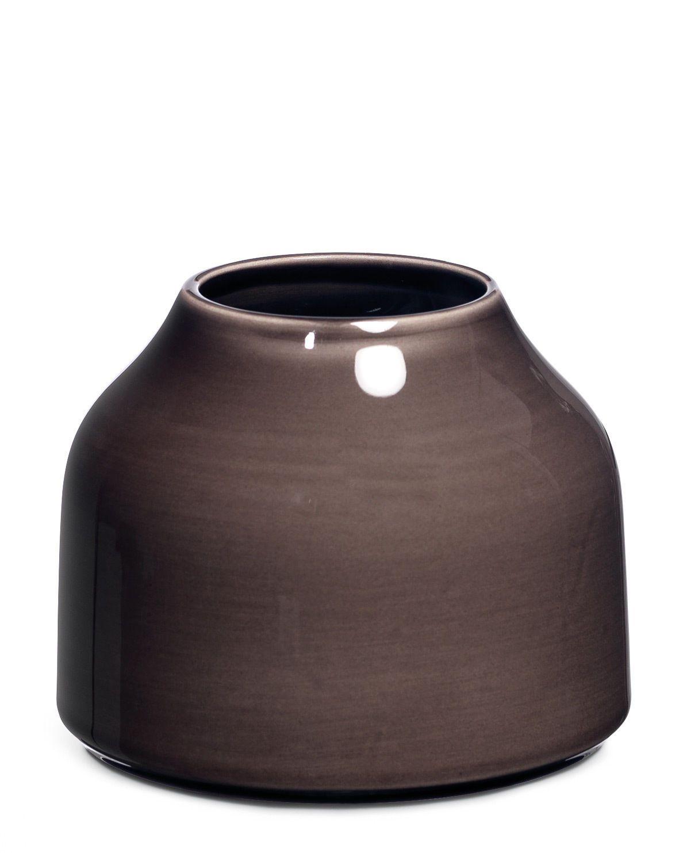 Botanica Vase grau braun