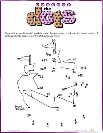 17 best Full Sample Puzzles images on Pinterest | Connect ... |Columbus Connect The Dots