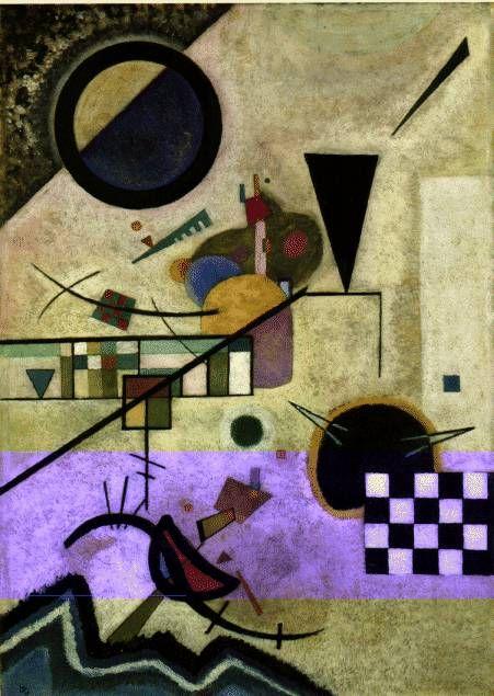 Wassily Kandinsky ~ Contrasting sounds, 1924