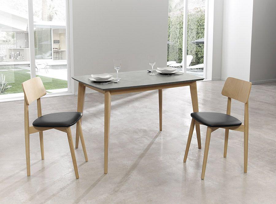 Mesas y sillas de cocina MSK011 | Muebles Lara | Sillas ...