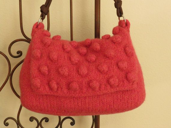 Felted Purse Pattern Knit Bag Pattern Felted Purse Knitted Purse