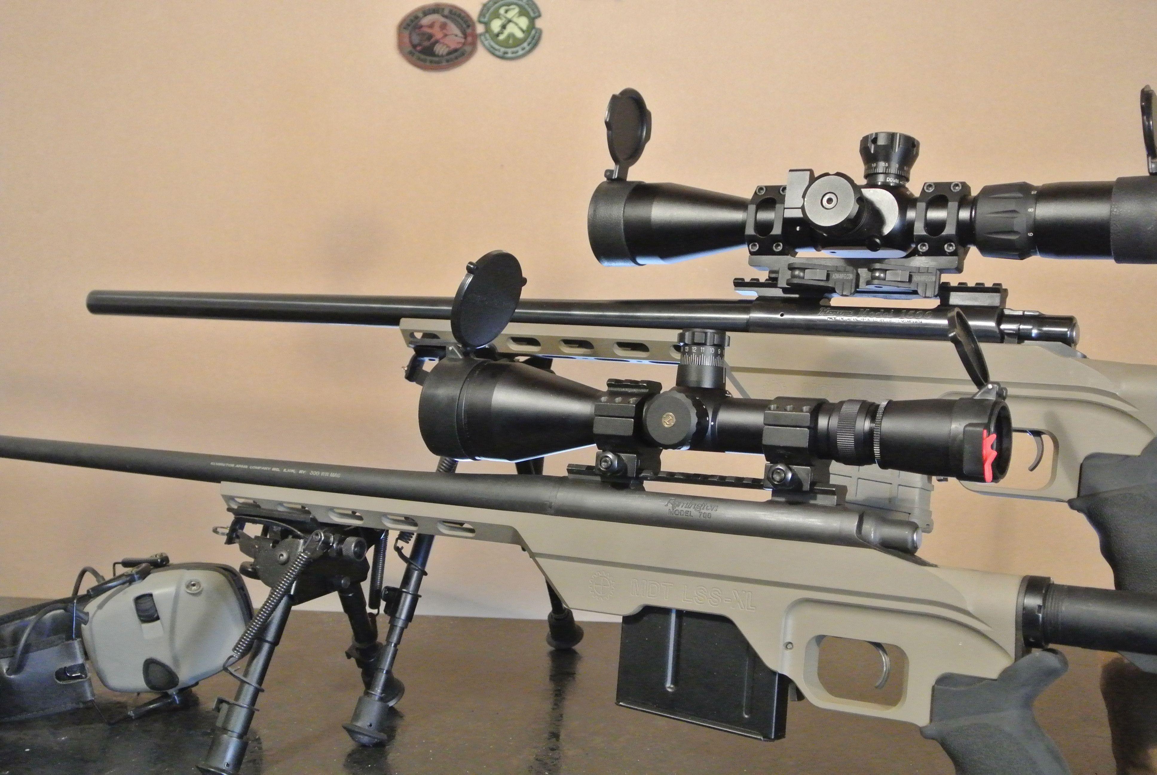Howa 1500 remington 700 in mdt lssxl chassis guns