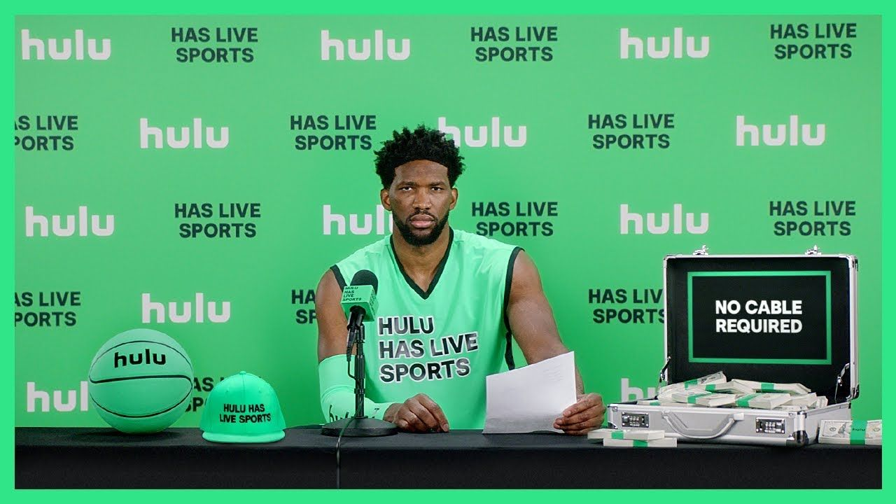 This Joel Embiid Hulu TV ad is an example of rational