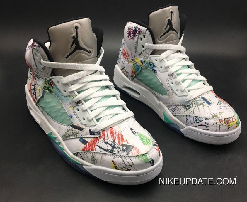 finest selection f7445 30545 2019 的 Discount Air Jordan 5 'Wings' Multi-Color/Multi ...