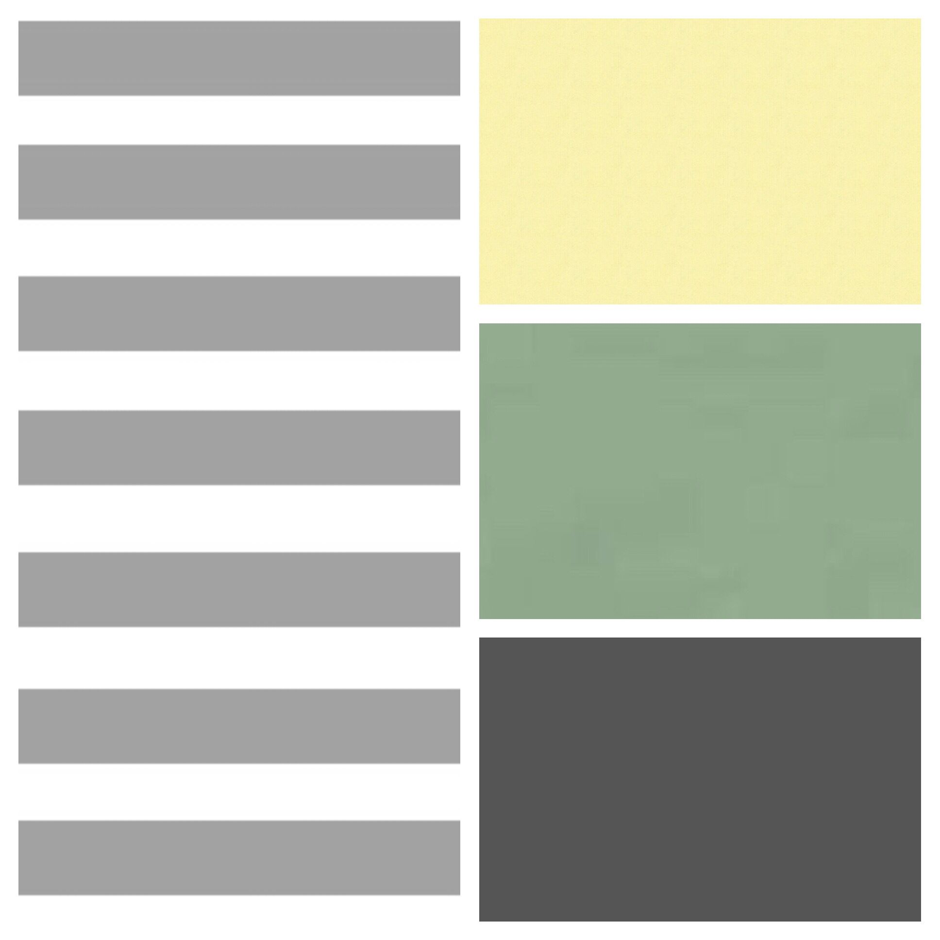 Color palette for baby boy\'s room: greys, soft white, pale yellow ...