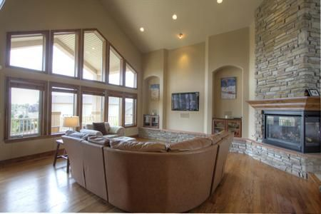 Gleneagles raised ranch house stuff pinterest Walkout basement windows