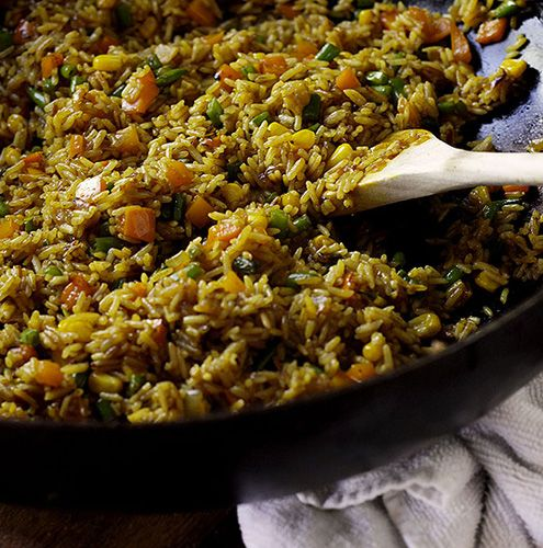 Recipes from around the world nigerian fried rice food recipes from around the world nigerian fried rice food pinterest fried rice rice and african recipes forumfinder Image collections