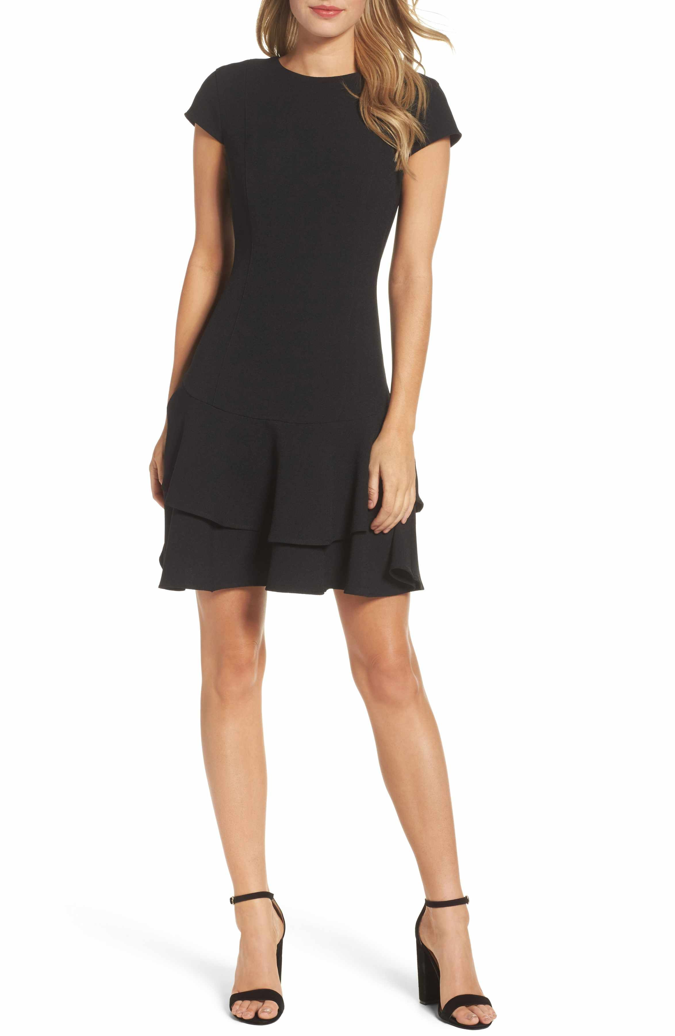 Stretch Crepe Sheath Dress | Crepes, Petite and Stretches