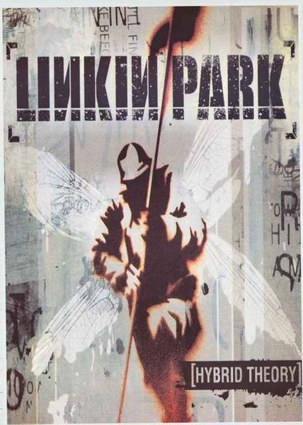 Linkin Park Hybrid Theory Album Cover Poster 24x33 Linkin