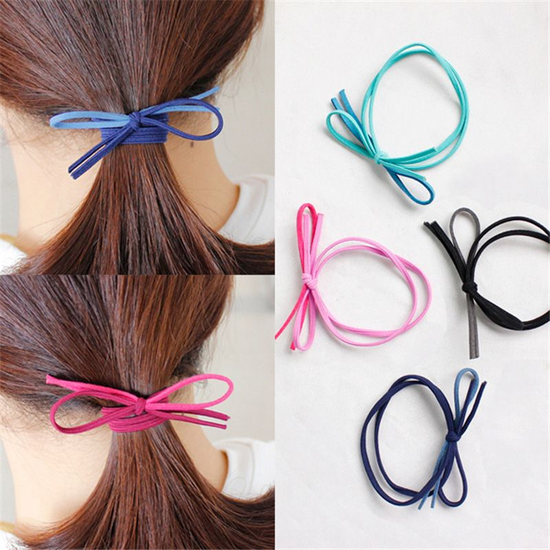 20pcs Fashion Women S Hair Bows Elastic Hair Bands For Women Cute Designers Ponytail Holders Head Rope Rubber Hair Acceessories Affiliate