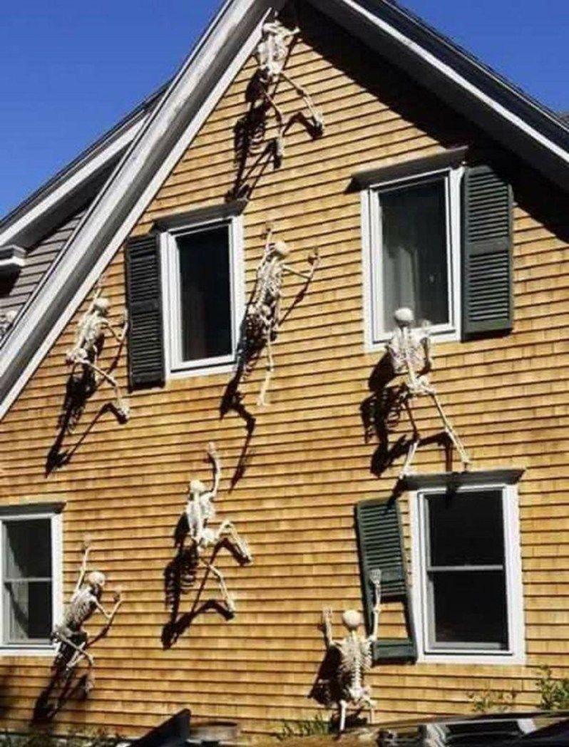 70 Cool Outdoor Halloween Decorating Ideas