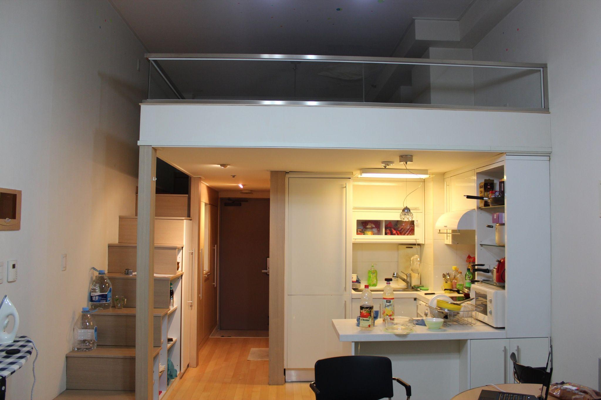 korean apartments one room Google Search Ideas para el