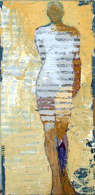 jylian gustlin- figurative mixed media lesson  Layers!   People