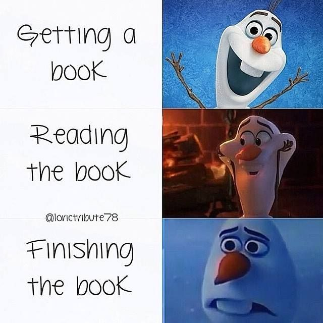 Getting The Book, Reading The Book, Finishing The Book, Repeat!