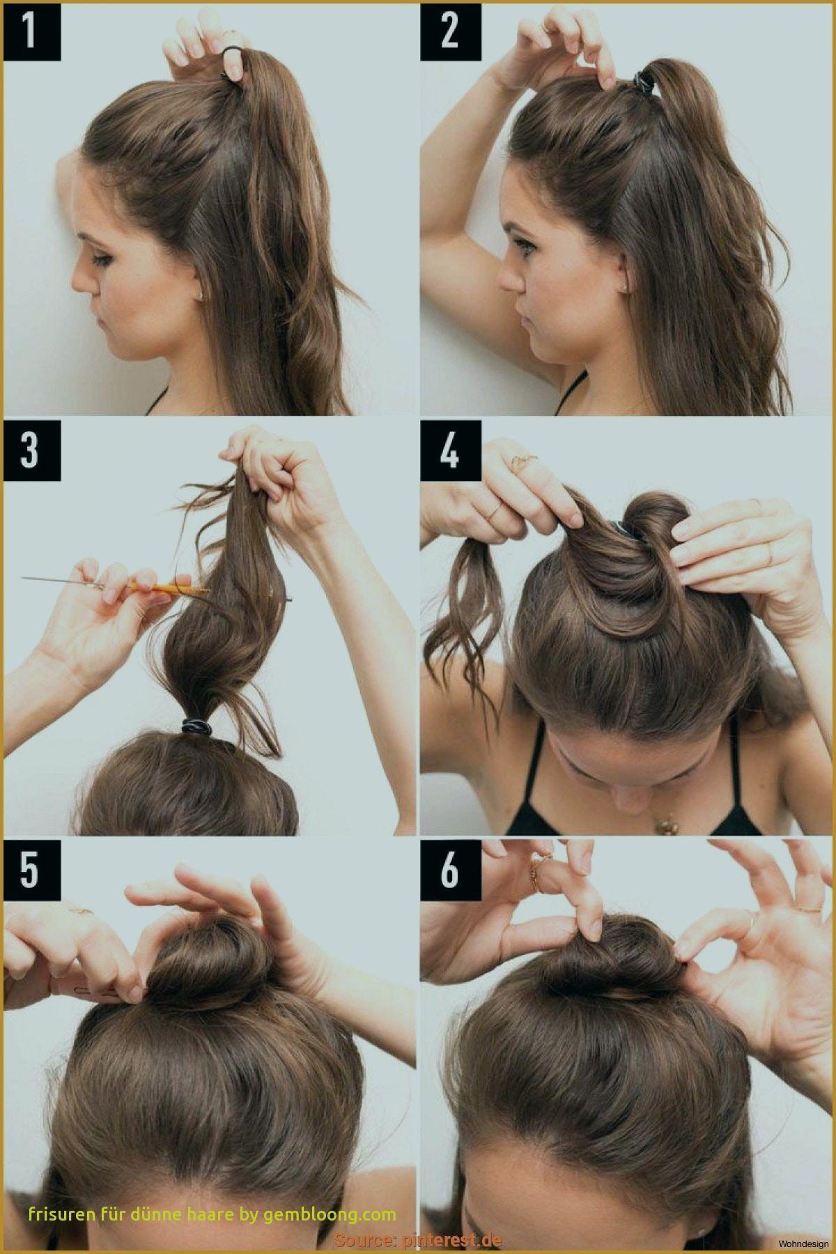 Festliche Frisuren Für Dünne Haare - yskgjt.com  Meio coque