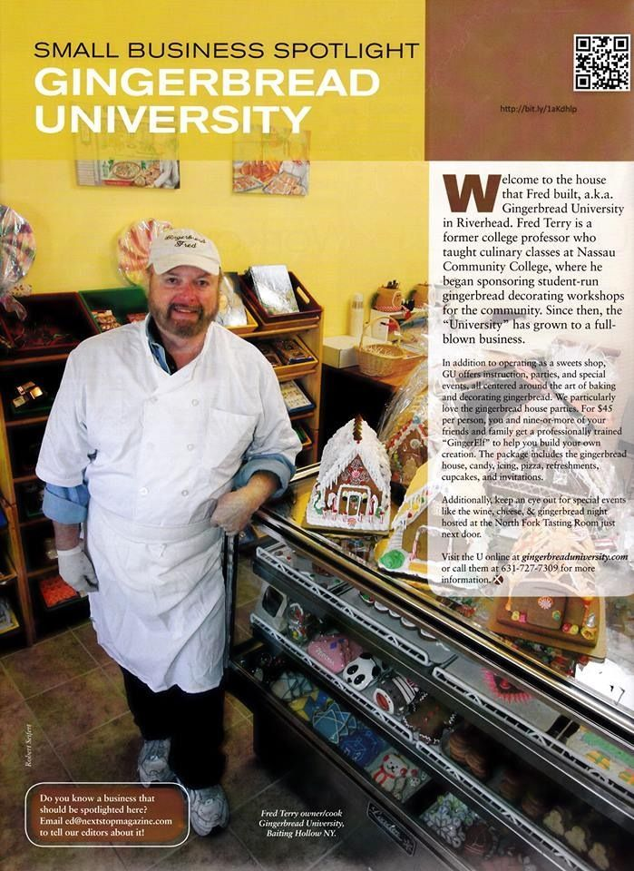 Make A Gingerbread House And More In Riverhead Ny Make A Gingerbread House College Professor Long Island Ny