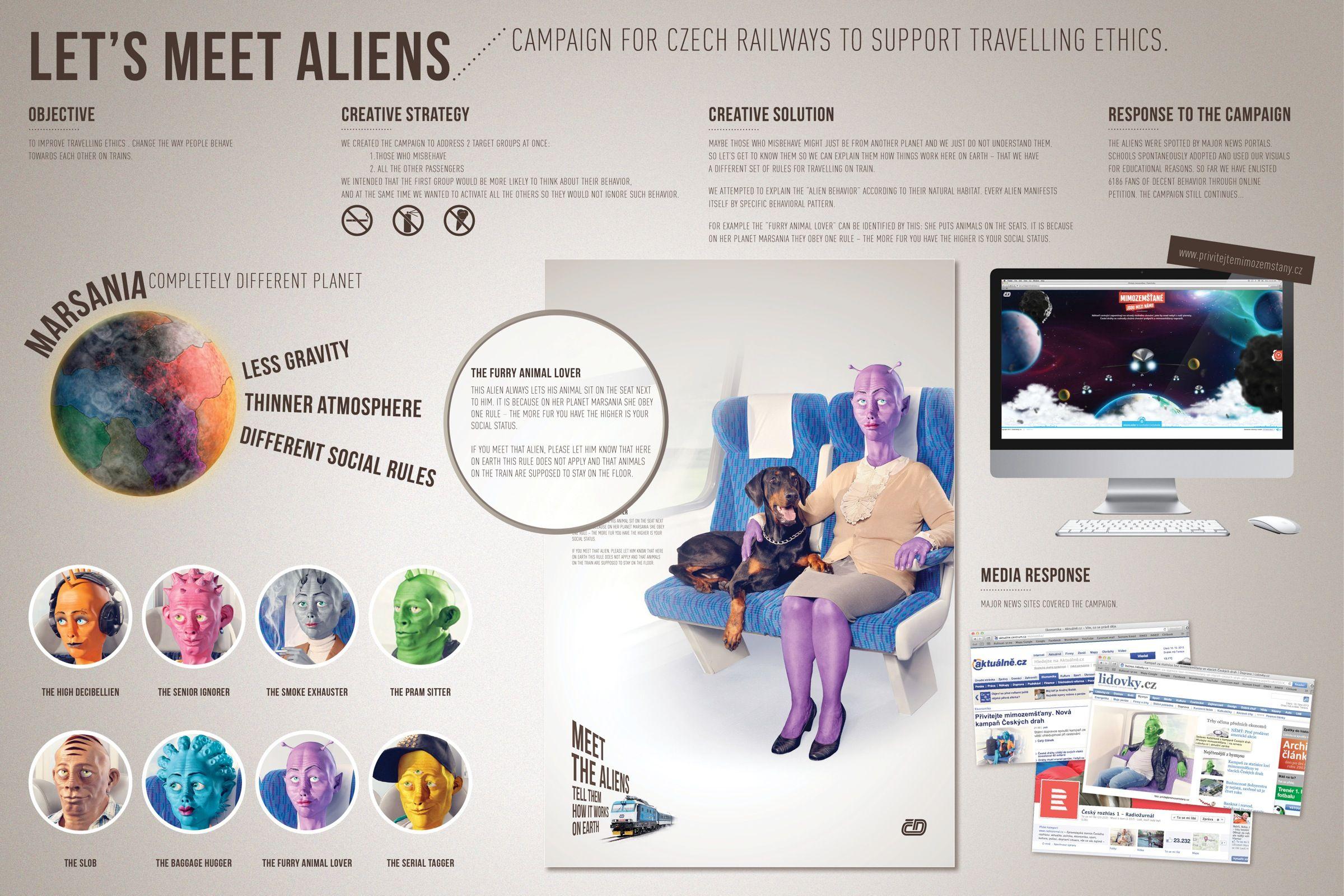 Czech Railways: Aliens