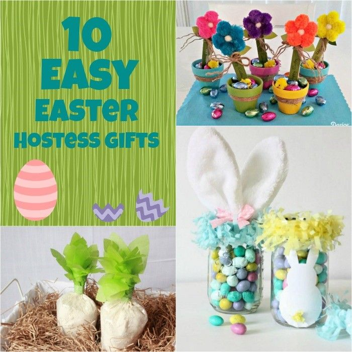 10 easy easter hostess gifts easter projects pinterest 10 easy easter hostess gifts negle Image collections