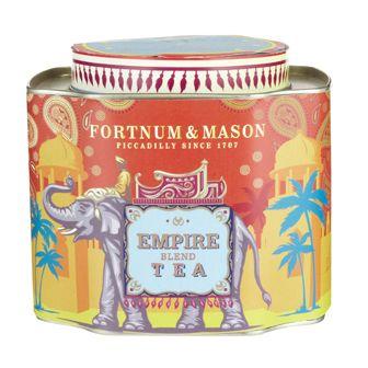 Fortnum & Mason Empire Tea <3 love the cute elephant tin!