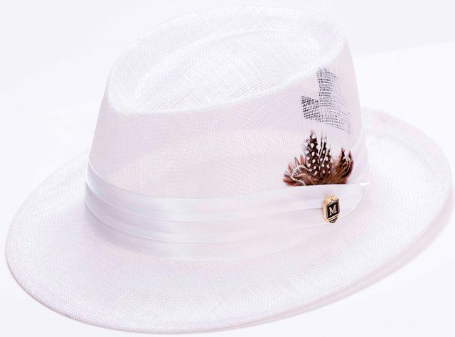 a72a34381c6847 Montique Mens White Summer Mesh Hat H-19 | bernice neal in 2019 ...
