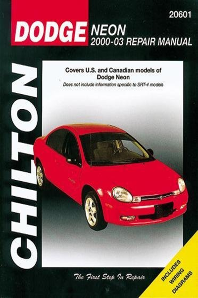 [DIAGRAM_38ZD]  2007) Dodge Neon 2000-2005 (Chilton's Total Car Care Repair Manuals) by  Chilton - Cengage Learning | Repair manuals, Chilton, Repair | 2005 Dodge Neon Wiring Diagram Pdf |  | Pinterest