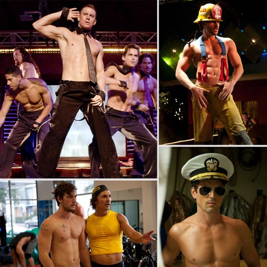 See Over 50 Pics of Channing Tatum and the Rest of the Shirtless Magic Mike Cast