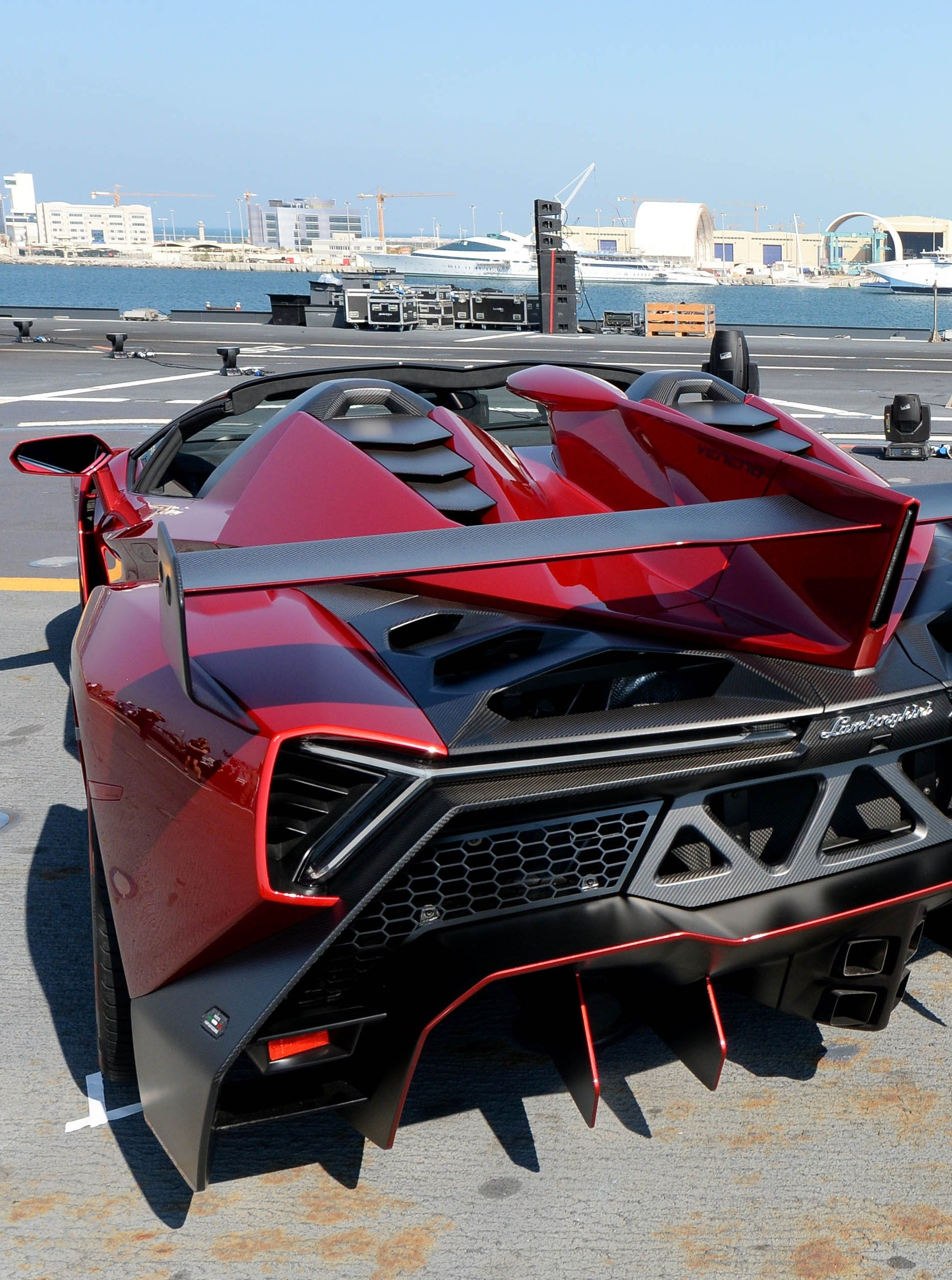 Lamborghini Veneno and I want one but they only made four  and Lamborghini kept one