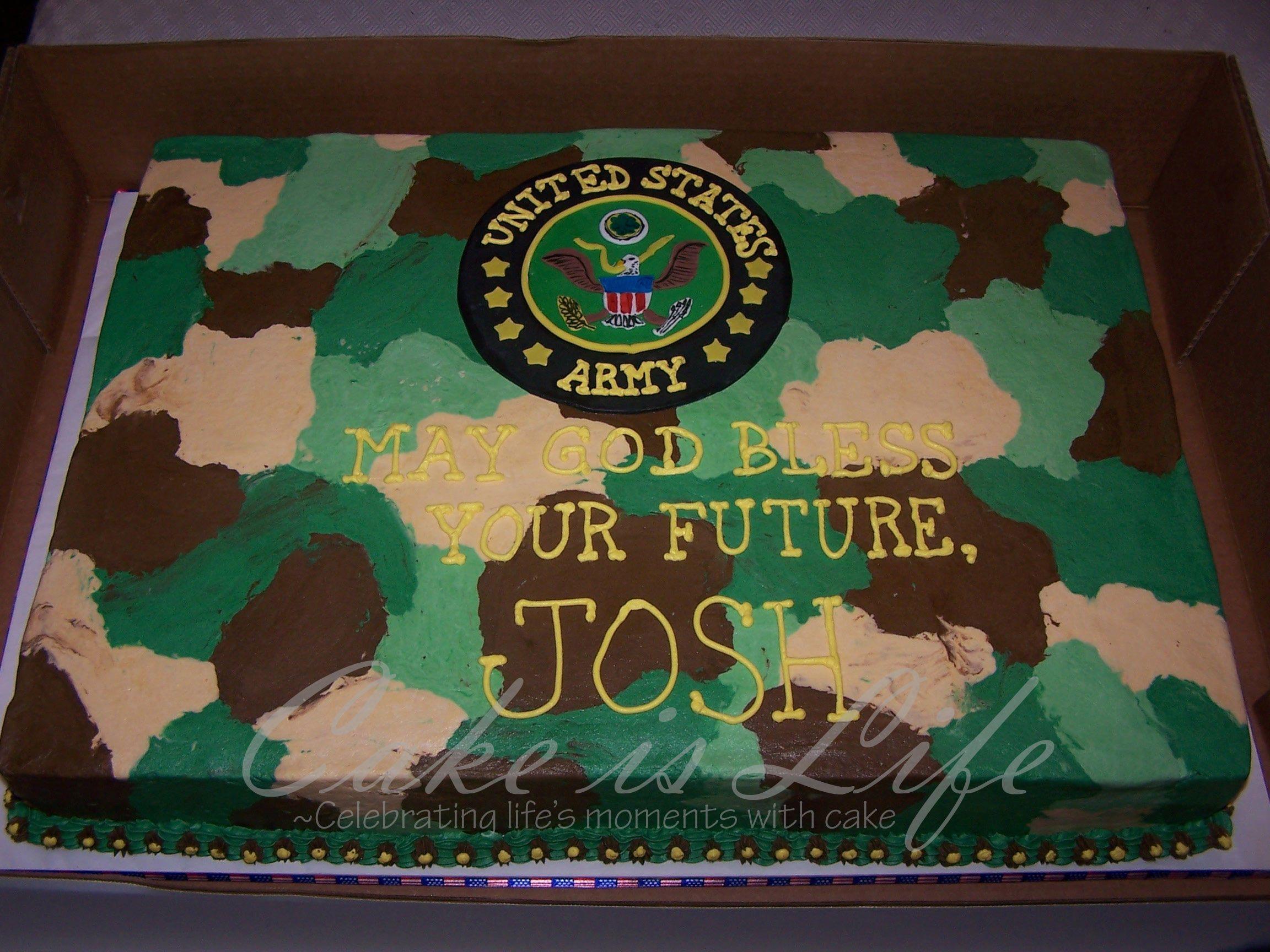 Army Military Police Welcome Home Cake Welcome home cake