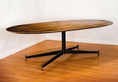 Tavolo Ovale ~ Ignazio gardella tavolo t tavolo ovale con basamento in ferro