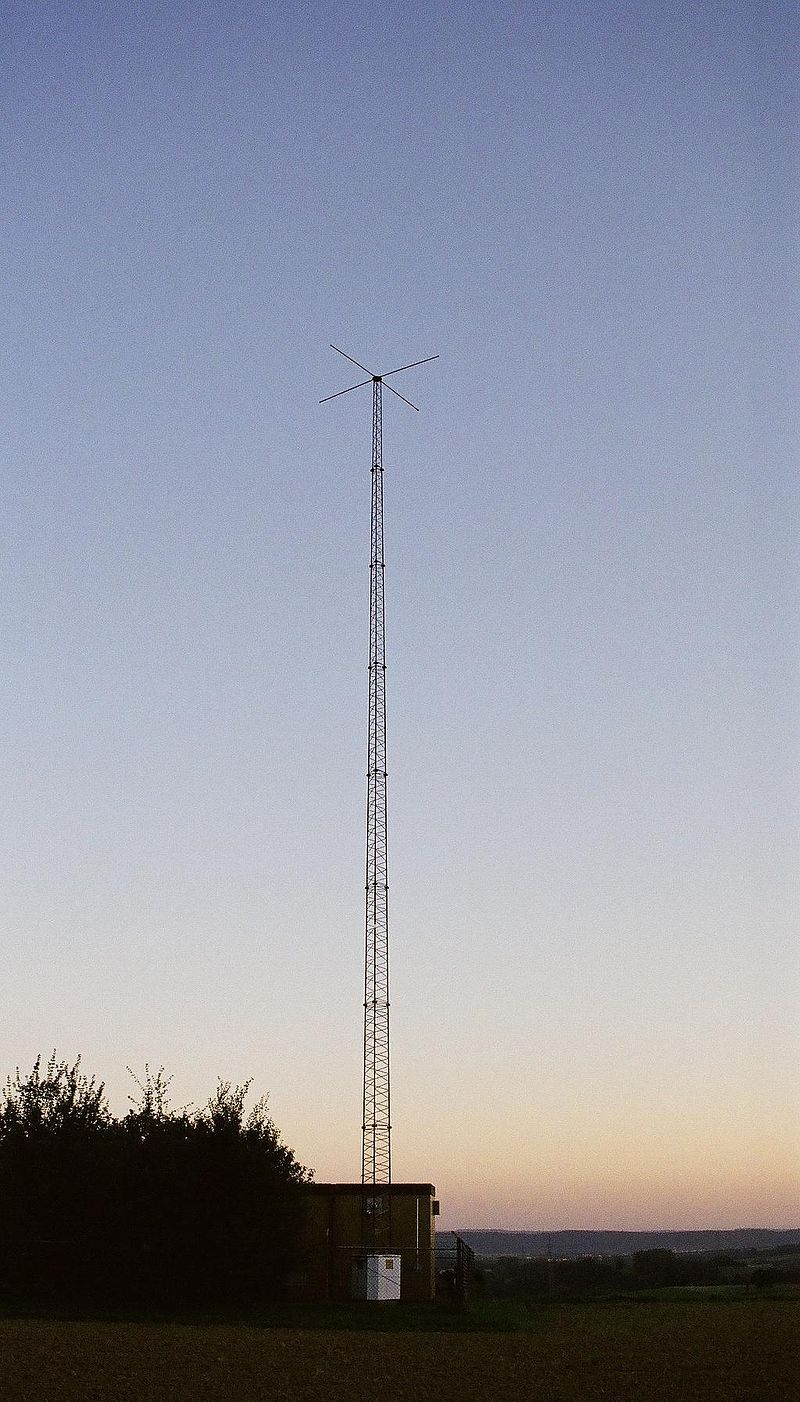 Antenne radio NDB NKR à Leimen-Ochsenbach, Allemagne