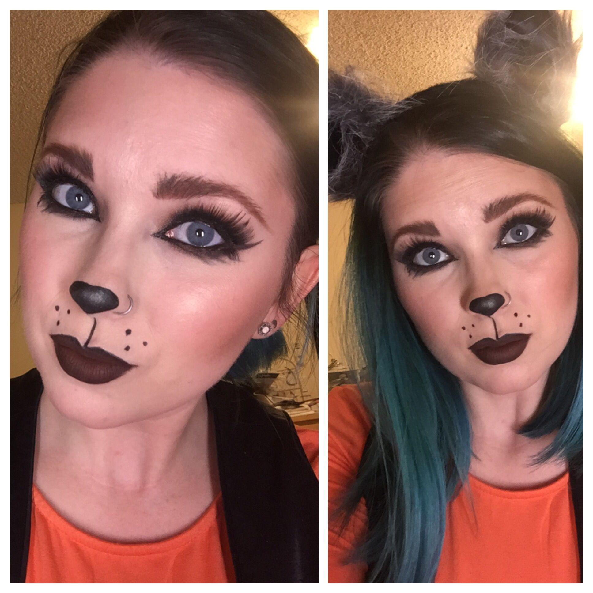 Image result for raccoon makeup Raccoon makeup, Makeup