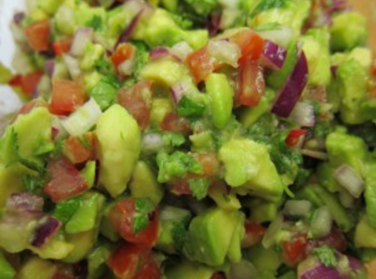 Fresh Chunky Guacamole Recipe With Images Chunky Guacamole