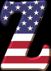 Alfabeto Con La Bandera De Usa Alfabeto Monograma Decoracao Capitao America Capitao America Png
