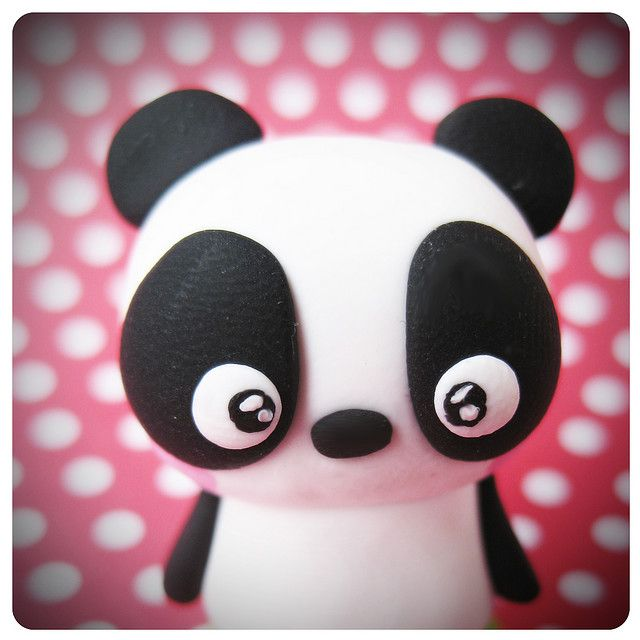 fimo panda phone plug pinterest maki saumon panda et bijoux fimo. Black Bedroom Furniture Sets. Home Design Ideas